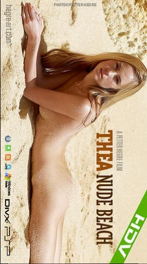 Thea - `#299 - Nude Beach` - by Petter Hegre for HEGRE-ART VIDEO