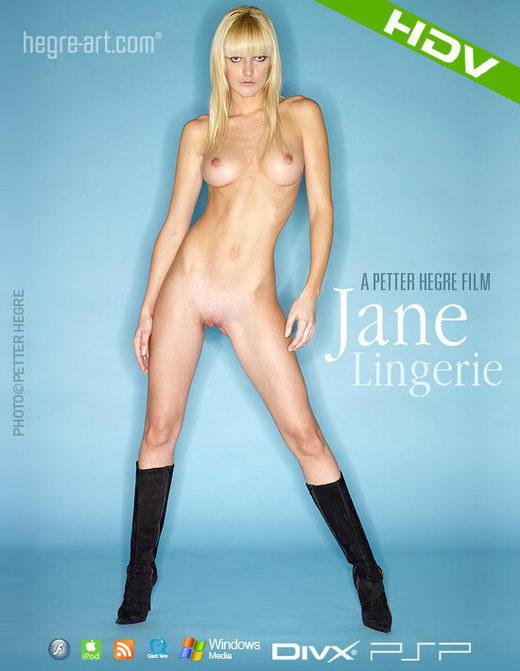 Jane - `#310 - Lingerie` - by Petter Hegre for HEGRE-ART VIDEO