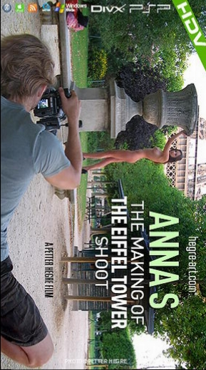Anna S - `#311 - The Making Of The Eiffel Tower Shoot` - by Petter Hegre for HEGRE-ART VIDEO