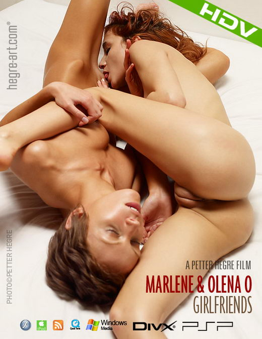 Marlene & Olena O - `#312 - Girlfriends` - by Petter Hegre for HEGRE-ART VIDEO