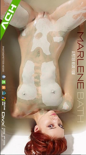 Marlene - `#317 - Bath` - by Petter Hegre for HEGRE-ART VIDEO