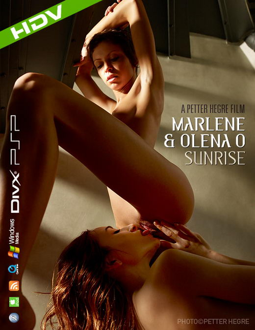 Marlene & Olena O - `#320 - Sunrise` - by Petter Hegre for HEGRE-ART VIDEO