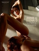 Olena O & Annie in Sunrise video from HEGRE-ART VIDEO by Petter Hegre