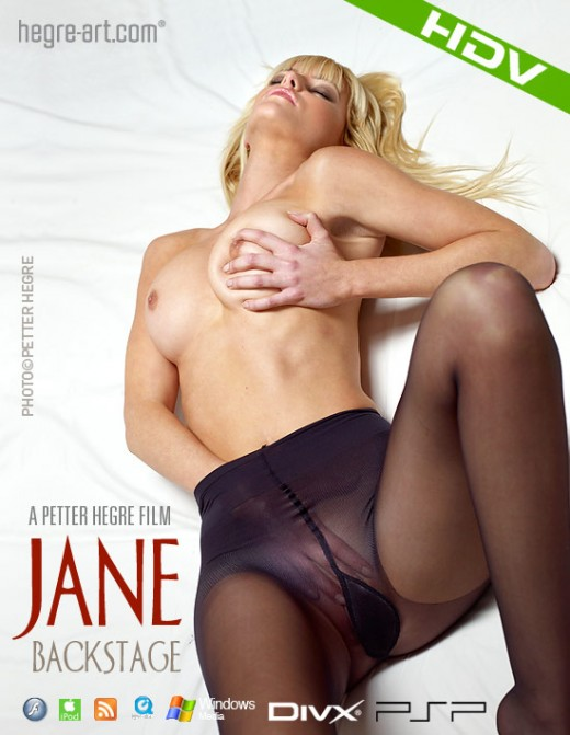 Jane - `#324 - Backstage` - by Petter Hegre for HEGRE-ART VIDEO