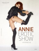 Annie in Erotic Show video from HEGRE-ART VIDEO by Petter Hegre