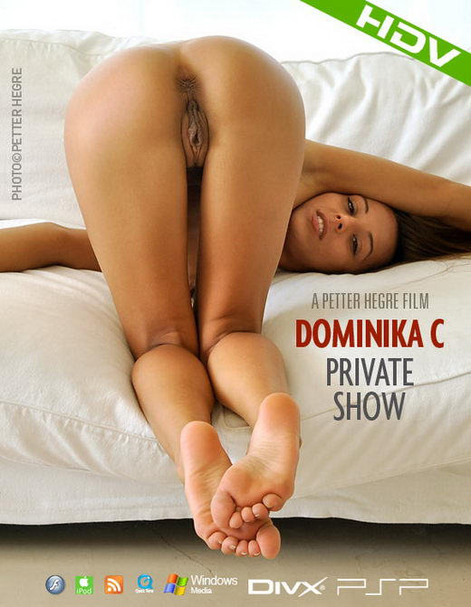 Dominika C - `#336 - Private Show` - by Petter Hegre for HEGRE-ART VIDEO