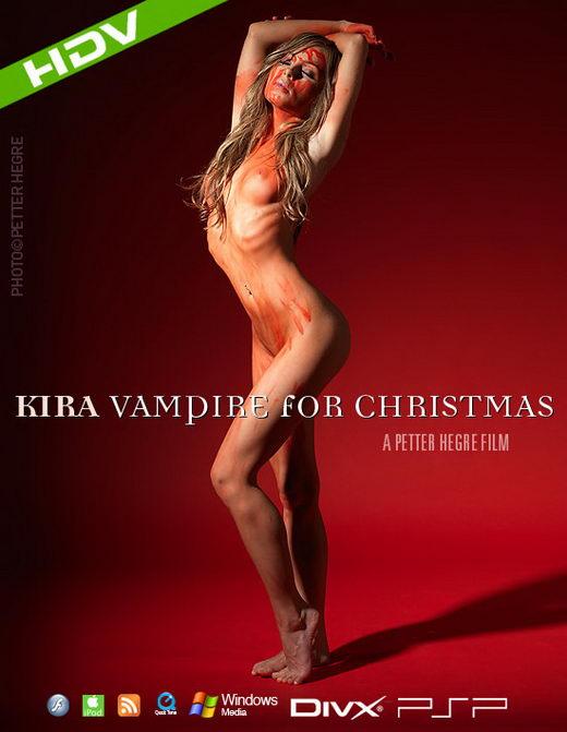 Kira - `#343 - Vampire For Christmas` - by Petter Hegre for HEGRE-ART VIDEO