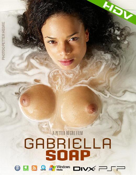 Gabriella - `#347 - Soap` - by Petter Hegre for HEGRE-ART VIDEO