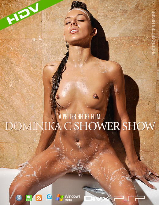 Dominika C - `#352 - Shower Show` - by Petter Hegre for HEGRE-ART VIDEO
