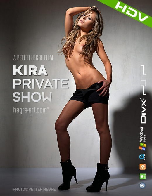 Kira - `#354 - Private Show` - by Petter Hegre for HEGRE-ART VIDEO