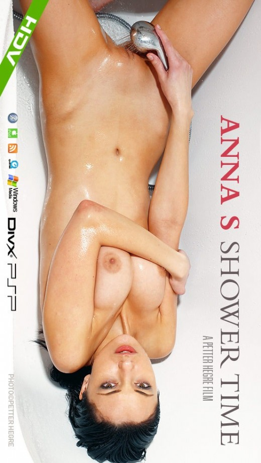 Anna S - `#355 - Shower Time` - by Petter Hegre for HEGRE-ART VIDEO