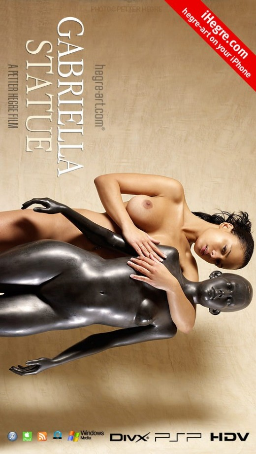 Gabriella - `#361 - Statue` - by Petter Hegre for HEGRE-ART VIDEO