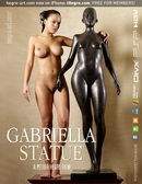 Gabriella in #361 - Statue video from HEGRE-ART VIDEO by Petter Hegre