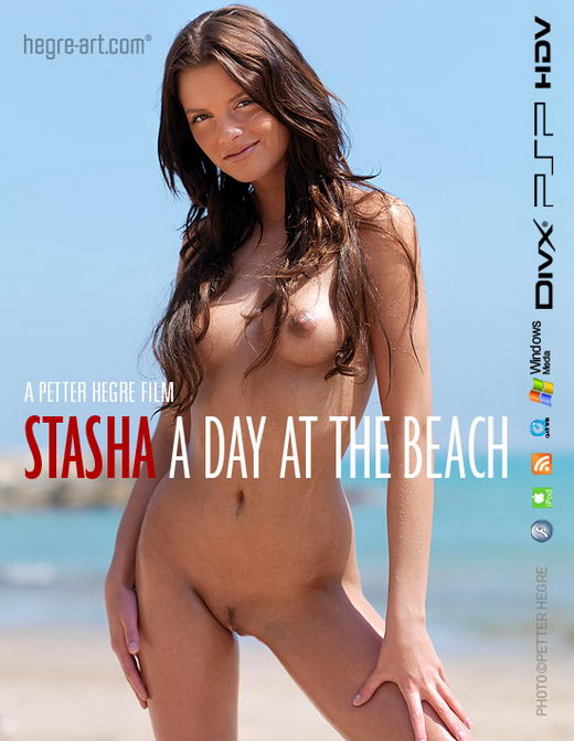 Stasha - `#365 - A Day At The Beach` - by Petter Hegre for HEGRE-ART VIDEO