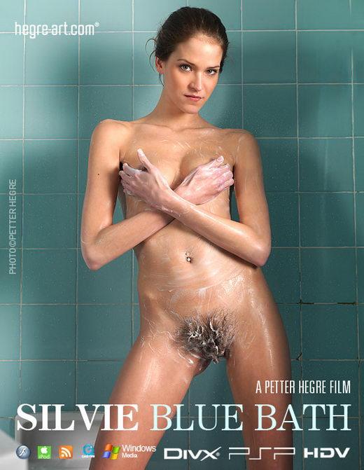 Silvie - `#367 - Blue Bath` - by Petter Hegre for HEGRE-ART VIDEO