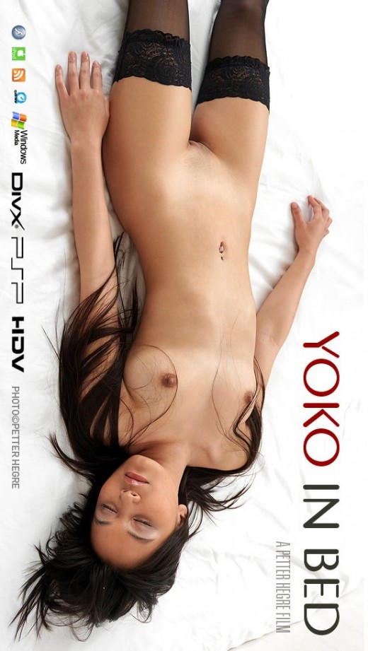Yoko - `#368 - In Bed` - by Petter Hegre for HEGRE-ART VIDEO