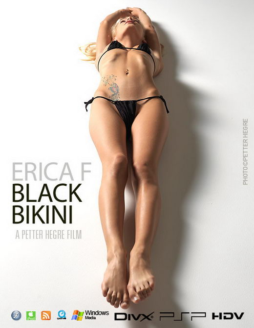 Erica F - `#372 - Black Bikini` - by Petter Hegre for HEGRE-ART VIDEO