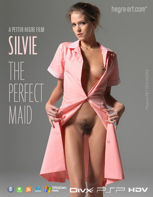 Silvie - `#380 - The Perfect Maid` - by Petter Hegre for HEGRE-ART VIDEO