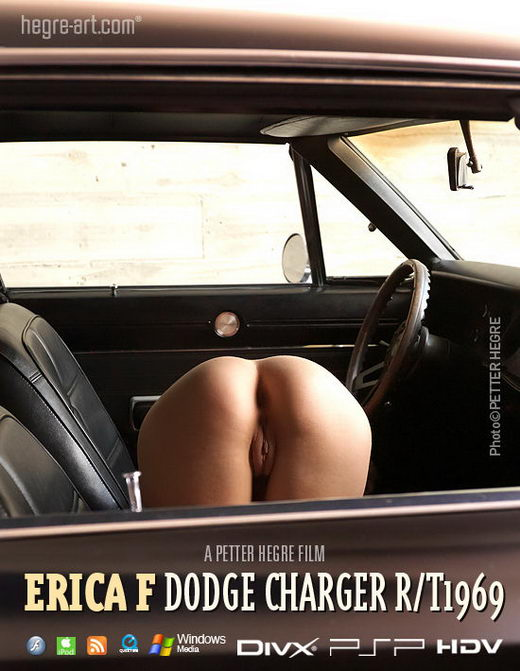 Erica F - `#378 - Dodge Charger 1969` - by Petter Hegre for HEGRE-ART VIDEO