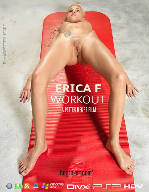 Erica F - `#389 - Workout` - by Petter Hegre for HEGRE-ART VIDEO
