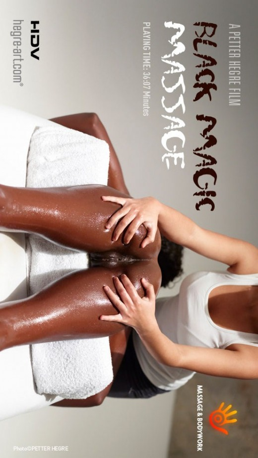 Valerie - `#33 - Black Magic Massage` - by Petter Hegre for HEGRE-ART VIDEO