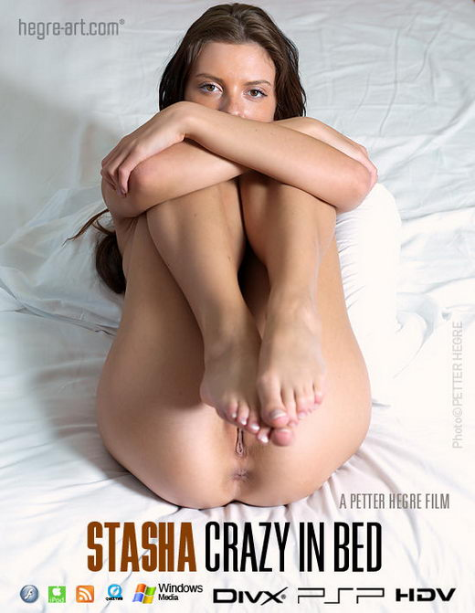 Stasha - `#392 - Crazy In Bed` - by Petter Hegre for HEGRE-ART VIDEO