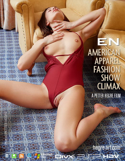En - `#395 - American Apparel Fashion Show Climax` - by Petter Hegre for HEGRE-ART VIDEO