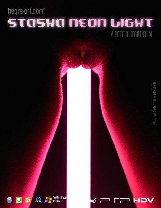 Stasha - `#403 - Neon Light` - by Petter Hegre for HEGRE-ART VIDEO