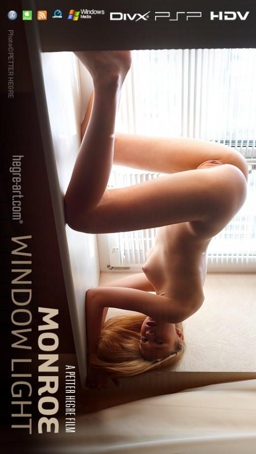 Monroe - `#407 - Window Light` - by Petter Hegre for HEGRE-ART VIDEO