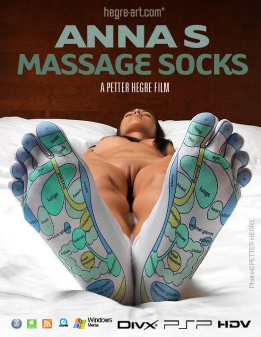 Anna S - `#412 - Massage Socks` - by Petter Hegre for HEGRE-ART VIDEO