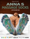 Anna S in #412 - Massage Socks video from HEGRE-ART VIDEO by Petter Hegre