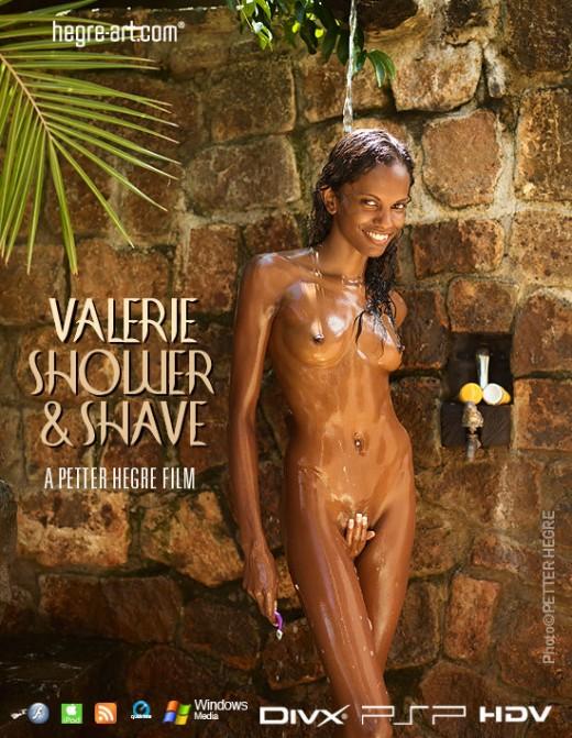 Valerie - `#419 - Shower & Shave` - by Petter Hegre for HEGRE-ART VIDEO
