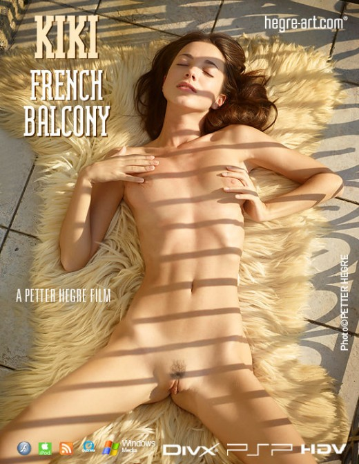 Kiki - `#420 - French Balcony` - by Petter Hegre for HEGRE-ART VIDEO