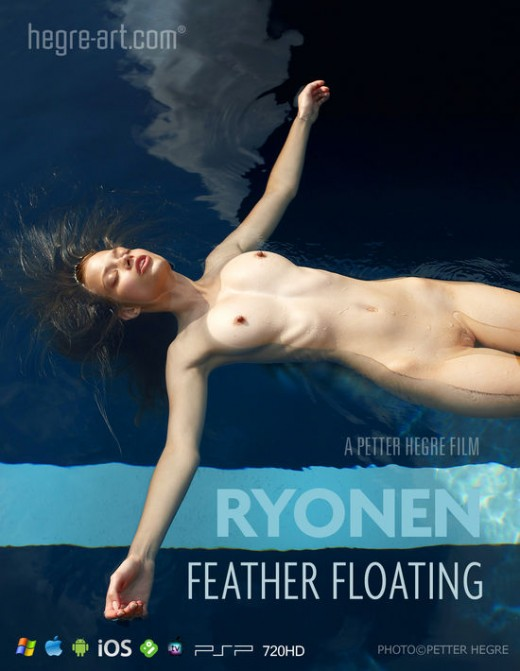 Ryonen - `#424 - Feather Floating` - by Petter Hegre for HEGRE-ART VIDEO