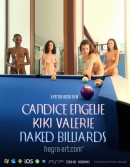Candice & Engelie & Kiki & Valerie in #425 - Naked Billiards video from HEGRE-ART VIDEO by Petter Hegre
