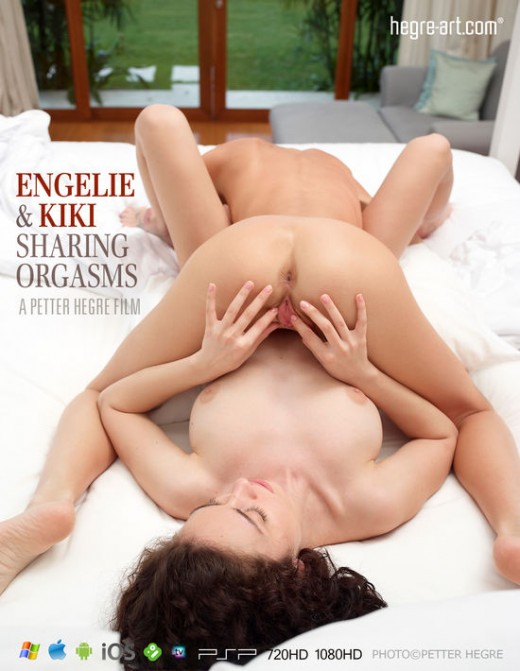 Engelie & Kiki - `#426 - Sharing Orgasms` - by Petter Hegre for HEGRE-ART VIDEO