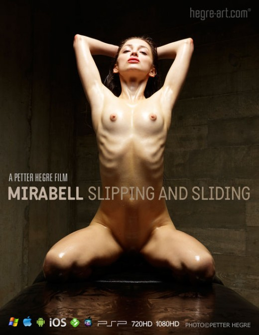 Mirabell - `#427 - Slipping And Sliding` - by Petter Hegre for HEGRE-ART VIDEO