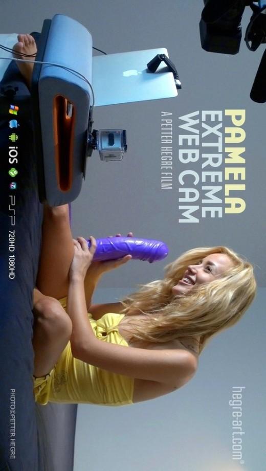 Pamela - `#437 - Extreme Web Cam` - by Petter Hegre for HEGRE-ART VIDEO