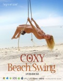 Coxy in #438 - Beach Swing video from HEGRE-ART VIDEO by Petter Hegre