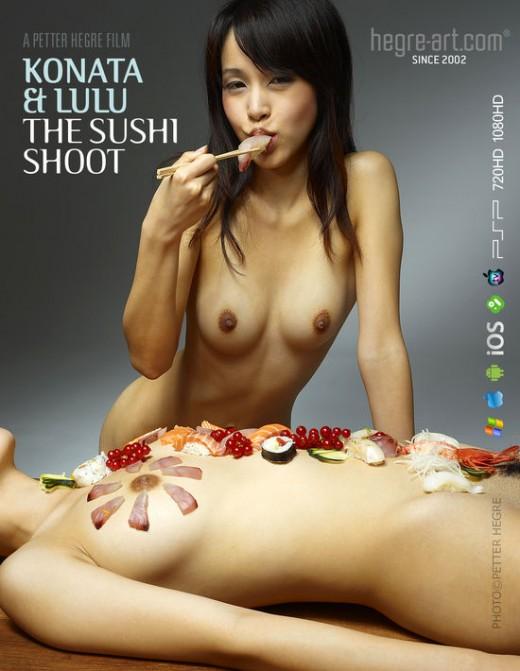 Konata & Lulu - `#447 - The Sushi Shoot` - by Petter Hegre for HEGRE-ART VIDEO