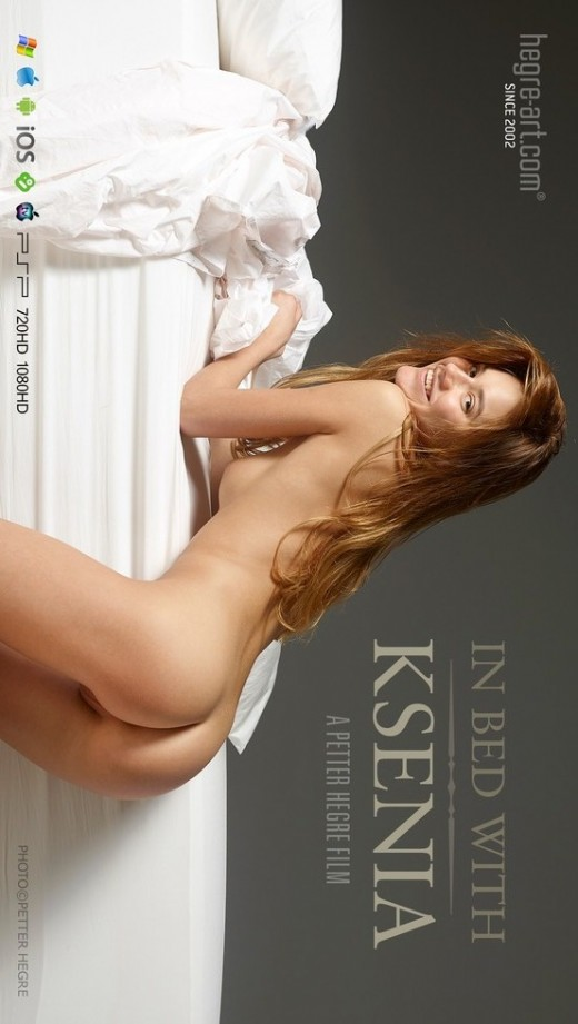 Ksenia - `#450 - In Bed With Ksenia` - by Petter Hegre for HEGRE-ART VIDEO