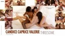 Candice Caprice Valerie Threesome video from HEGRE-ART VIDEO by Petter Hegre