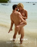 Ariel And Alex Sex On The Beach video from HEGRE-ART VIDEO by Petter Hegre