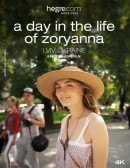 A Day In The Life Of Zoryanna video from HEGRE-ART VIDEO by Petter Hegre