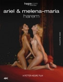 Ariel And Melena Maria Harem video from HEGRE-ART VIDEO by Petter Hegre
