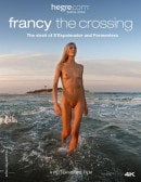 Francy The Crossing video from HEGRE-ART VIDEO by Petter Hegre