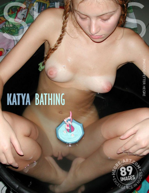 Katya - `Bathing` - by Petter Hegre for HEGRE-ART