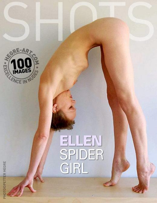 Ellen - `Spider Girl` - by Petter Hegre for HEGRE-ART