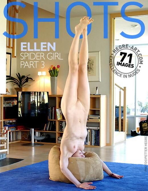Ellen - `Spider Girl - Part 3` - by Petter Hegre for HEGRE-ART
