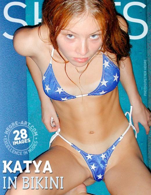 Katya - `In Bikini` - by Petter Hegre for HEGRE-ART